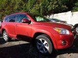 2011 Barcelona Red Metallic Toyota RAV4 Limited 4WD #107952416