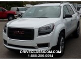 2016 Summit White GMC Acadia SLE AWD #107952240