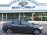 2015 Magnetic Metallic Ford Fusion Titanium AWD #107951869