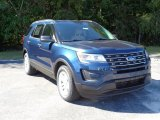 2016 Blue Jeans Metallic Ford Explorer FWD #107952202
