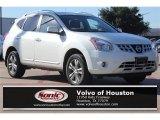 2013 Pearl White Nissan Rogue SV #107952379