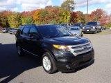 2014 Tuxedo Black Ford Explorer XLT 4WD #107952372