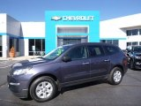 2013 Atlantis Blue Metallic Chevrolet Traverse LS #107951831