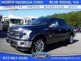 2015 Blue Jeans Metallic Ford F150 King Ranch SuperCrew 4x4 #107951047