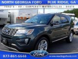 2016 Guard Metallic Ford Explorer XLT 4WD #107951044