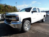2016 Summit White Chevrolet Silverado 1500 LT Double Cab 4x4 #107951819