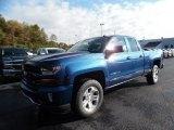 2016 Deep Ocean Blue Metallic Chevrolet Silverado 1500 LT Z71 Double Cab 4x4 #107951816