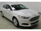 2013 White Platinum Metallic Tri-coat Ford Fusion SE #107950996