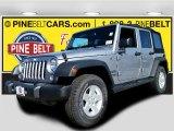 2016 Billet Silver Metallic Jeep Wrangler Unlimited Sport 4x4 #107951227