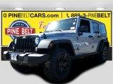 2016 Billet Silver Metallic Jeep Wrangler Unlimited Sport 4x4 #107951224