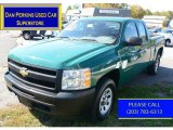 Steel Green Metallic Chevrolet Silverado 1500 in 2011
