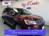 2016 Bronze Fire Metallic Ford Explorer Limited #108047740