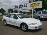 2002 Bright White Chevrolet Cavalier LS Coupe #10782100