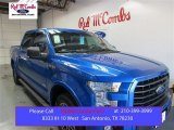 2015 Blue Flame Metallic Ford F150 XLT SuperCrew #108047737