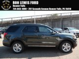 2016 Guard Metallic Ford Explorer XLT 4WD #108047790