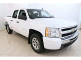 Summit White Chevrolet Silverado 1500 in 2011