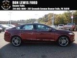 2016 Bronze Fire Metallic Ford Fusion Titanium #108047781