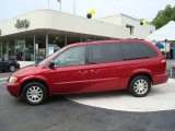 2003 Inferno Red Pearl Chrysler Town & Country EX #10790288