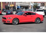 2015 Race Red Ford Mustang EcoBoost Premium Coupe #108083510