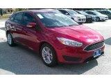 2015 Ruby Red Metallic Ford Focus SE Sedan #108083428