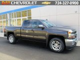 2016 Tungsten Metallic Chevrolet Silverado 1500 LT Double Cab 4x4 #108083395