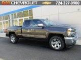 2016 Tungsten Metallic Chevrolet Silverado 1500 LTZ Double Cab 4x4 #108083394
