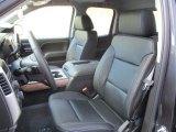 2016 Chevrolet Silverado 1500 LTZ Double Cab 4x4 Jet Black Interior