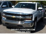 2016 Summit White Chevrolet Silverado 1500 LT Double Cab 4x4 #108083578
