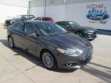2015 Magnetic Metallic Ford Fusion Titanium #108083484