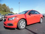 2016 Red Hot Chevrolet Cruze Limited LS #108083522