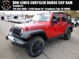 2016 Firecracker Red Jeep Wrangler Unlimited Sport 4x4 #108108638