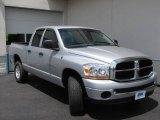 2006 Bright Silver Metallic Dodge Ram 1500 SLT Quad Cab 4x4 #10791641