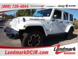 2016 Bright White Jeep Wrangler Unlimited Rubicon Hard Rock 4x4 #108108711