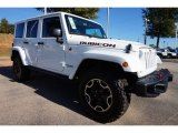 Bright White Jeep Wrangler Unlimited in 2016