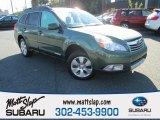 2012 Cypress Green Pearl Subaru Outback 3.6R Limited #108108871