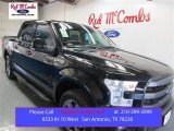 2015 Tuxedo Black Metallic Ford F150 Lariat SuperCrew 4x4 #108108553