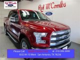 2015 Ruby Red Metallic Ford F150 Lariat SuperCrew 4x4 #108108552