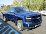 2016 Chevrolet Silverado 1500 Deep Ocean Blue Metallic