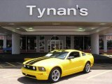 2006 Screaming Yellow Ford Mustang GT Premium Coupe #10780785