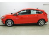 2015 Race Red Ford Focus SE Hatchback #108108395