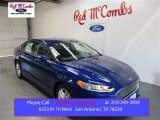 2016 Deep Impact Blue Metallic Ford Fusion SE #108108569