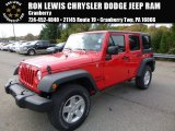2016 Firecracker Red Jeep Wrangler Unlimited Sport 4x4 #108108645