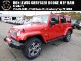 2016 Firecracker Red Jeep Wrangler Unlimited Sahara 4x4 #108108644