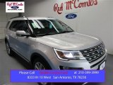 2016 Ingot Silver Metallic Ford Explorer Limited #108108564