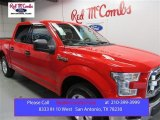 2015 Race Red Ford F150 XLT SuperCrew #108144000