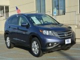 2012 Twilight Blue Metallic Honda CR-V EX-L 4WD #108144413