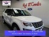 2016 Oxford White Ford Explorer XLT #108144044