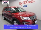 2016 Ruby Red Metallic Tri-Coat Ford Explorer Limited #108144043