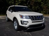 2016 White Platinum Metallic Tri-Coat Ford Explorer XLT #108144291