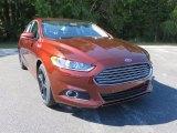 2016 Bronze Fire Metallic Ford Fusion SE #108144289
